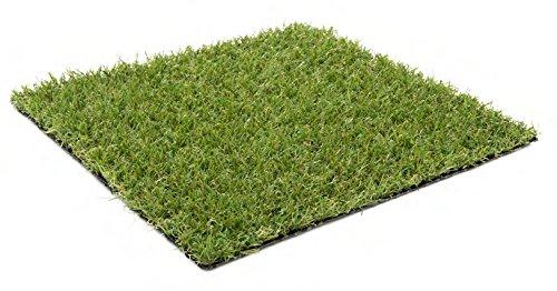 Kunstrasen Ibiza / 20 mm 1.350 g/m² / Rasenteppich | strapazierfähig, langlebig und pflegeleicht | Indoor wie Outdoor | Garten Terrasse Balkon Camping, Farbe:Grün, Größe:200 x 50 cm