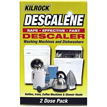 kilrock descalene entkalker f r waschmaschinen geschirrsp ler 2 packungen elektro. Black Bedroom Furniture Sets. Home Design Ideas