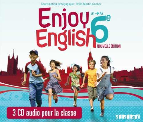 New Enjoy English 6e - CD classe