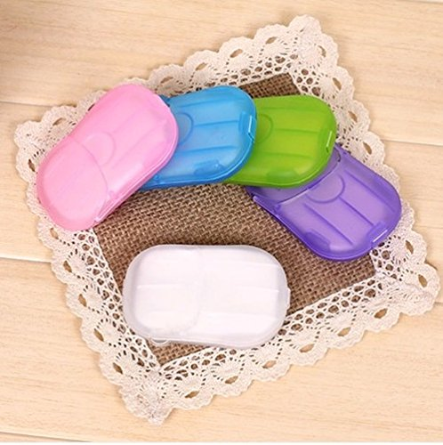 Emergency Travel Hand Soap Paper Laundry Washing Wash Packet Sheets Airline kit