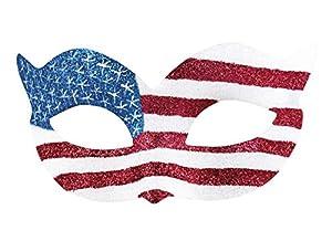 Boland 00240Ojo Máscara Estados Unidos, Disfraz, One Size