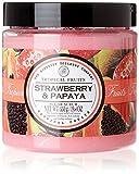 Frutas Tropicales de la fresa y papaya Sugar Scrub 500 g