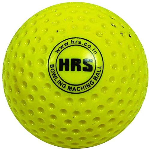 HRS CB105-6 Plastic Cricket Ball, Pack of 6