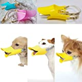 Funny Duck Bill Stil Hund Mund Maulkorb Mund Bark/Bite Stop–Farbe Zufällige