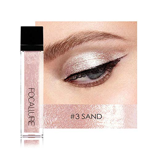Individuell Farben Lidschatten Gel Glitzer Metallic Shiny Smokey Eyes Lidschatten Wasserdicht...