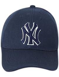ILU NY Unisex Baseball Cap Blue White Free Size