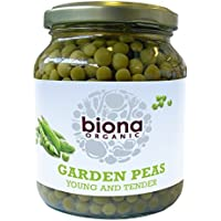 Biona Organic - Jarred Vegetables - Garden Peas - 350g (Case of 6)