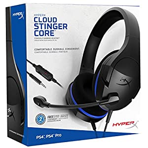 HyperX Kingston Cloud Stinger Core Konsolen Kopfhörer, PS4