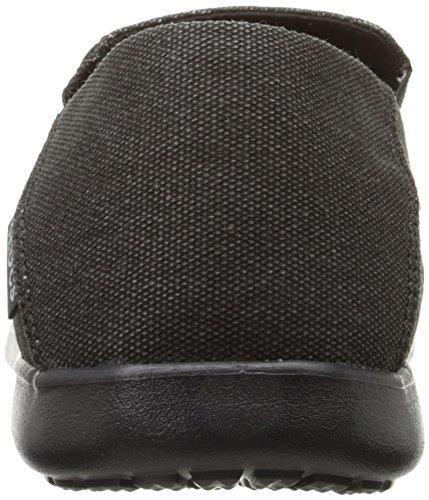 Crocs Santa Cruz 2 Luxe M, Sneakers Basses Homme Noir