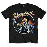 Photo de Jimi Hendrix Script Circle T-Shirt Homme par Jimi Hendrix
