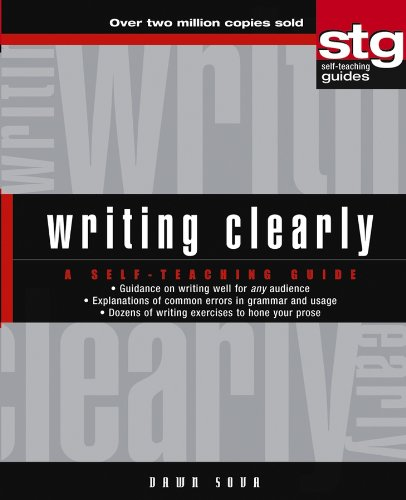 Writing Clearly: A Self–Teaching Guide par Dawn Sova
