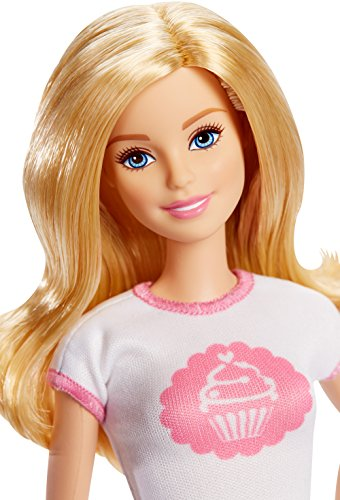 Image of Barbie Bakery Owner Doll and Playset