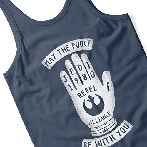 Jedi Hand Star Wars Women's Vest Navy blue