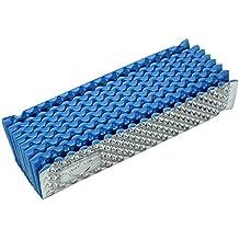 Colchón de Espuma Cojín Impermeable Estera de camping Plegable para Excursiones Camping (Color : Azul