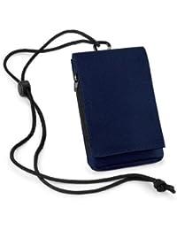 Pochette - Étui multifonction pour iPhone / Smartphone (Bleu Marine)