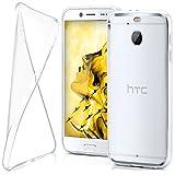 moex HTC 10 Evo | Hülle Silikon Transparent Klar Clear Back-Cover TPU Schutzhülle Dünn Handyhülle für HTC One 10 Evo Case Ultra-Slim Silikonhülle Rückseite