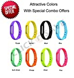 #7: Safeseed® Replacement Strap for Xiaomi Mi Band 1 Bracelet Silicone Wristband Cover case