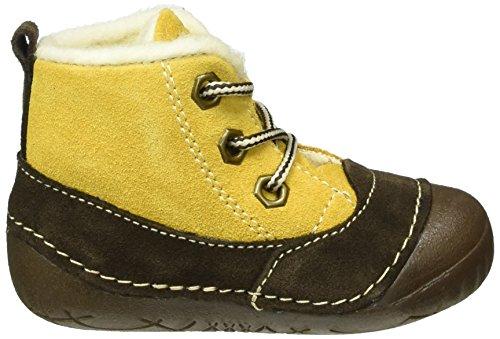 Primigi - Raffyx-e, Scarpine e pantofole primi passi Unisex – Bimbi 0-24 Marrone (Braun (OCRA-CAFFE))