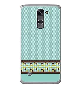 Fuson Cellular Pattern Designer Back Case Cover for LG Stylus 2 (Ethnic Pattern Patterns Floral Decorative Abstact Love Lovely Beauty)