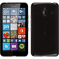 TBOC® Custodia Gel TPU Nera per Nokia Microsoft Lumia 640 XL in Silicone Ultra Sottile e Flessibile - Xl Silicone