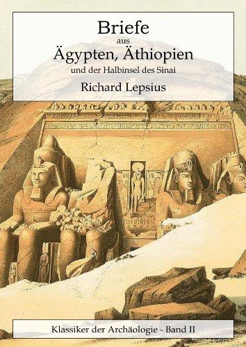 Buchseite und Rezensionen zu 'Briefe aus Ägypten, Äthiopien und der Halbinsel des Sinai' von Richard Lepsius