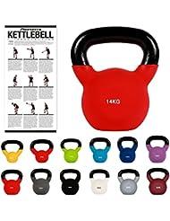 Haltère girya Kettlebell néoprène 2 - 30kg