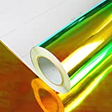 allvi Car Wrapping Film Folie Rainbow Chrome Play of Colors Black | Auto Folie