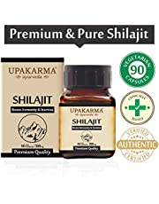 Upakarma Shilajeet Extracts 100% Natural & Pure Shilajit Ca