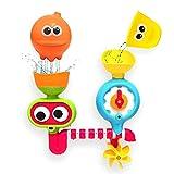 Leegoal Bad Spielzeug, Baby Handbrause Bad Spielzeug Spin Wasserbrunnen Badewanne Spielzeug für Jungen Mädchen Kinder Kinder