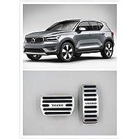 Per Volvo XC40 2019 2020 Accessori Alluminio Trasmissione Automatica Antiscivolo Metallo Gomma Carburante Tappo Del…