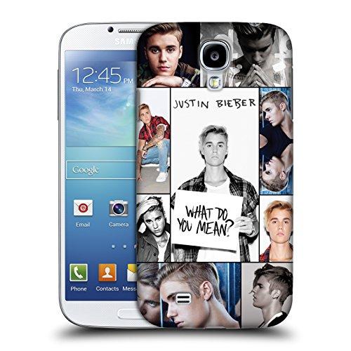 Offizielle Justin Bieber Netz Poster Purpose Ruckseite Hülle für Samsung Galaxy S4 I9500 (Justin Bieber Samsung Galaxy S4)