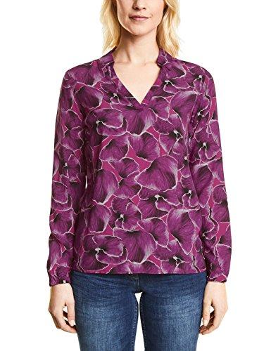 Cecil Damen Bluse 340792, Rosa (Magic Pink 31277), Medium (Bluse Flower Print)