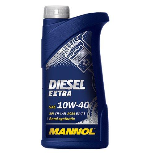 Mannol-olio-motore-diesel-extra-10-W40-api-CH-4SL-1-litro