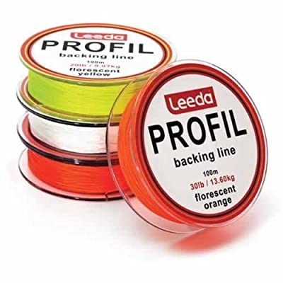 Leeda Profil Fly Line Backing Line 100m 20LB/30LB 3 Colours Trout/Salmon Fishing by Profil