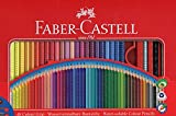 Faber-Castell 112448 - Buntstift Colour Grip 48er Stück Metalletui