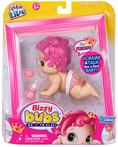 Little Live Bizzy Bubs Crawling Baby - Primmy lowest price