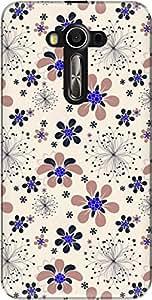 The Racoon Grip printed designer hard back mobile phone case cover for Asus Zenfone 2 Laser ZE550KL. (Pink Dande)