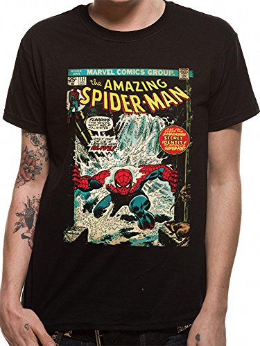 Official Licensed Merchandise Marvel Spider-Man Unisex T-Shirt Tee
