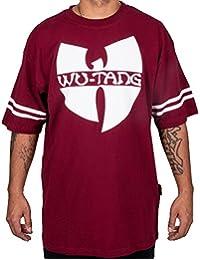Wu Wear - Wu 36 T-Shirt burgundy - Wu-Tang Clan Tamaño L, Color asignado Red