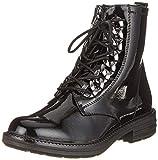 s.Oliver Damen 5-5-25241-21 018 Combat Boots, Schwarz (Black Patent 18), 37 EU