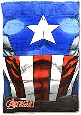 Manta coralina Capitan America Vengadores Marvel