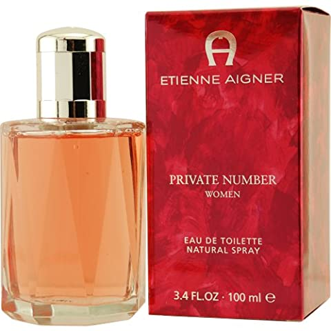 Private Number Private Number by Etienne Aigner Eau De Toilette Spray 3.4 Oz / 100 Ml for Women
