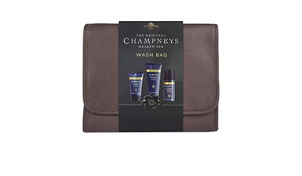 940004f46b Champneys Spa Essentials Hanging Wash Bag For Men GIFT SET  Amazon.co.uk   Beauty
