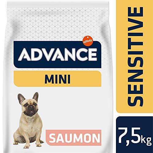 Advance Sensitive Croquettes pour Chien Mini Saumon - 7,5 Kg