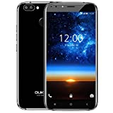 Mobile Phones Unlocked, Oukitel U22 3G Android Smartphone, Android 7.0 Quad Core 2GB + 16GB, 4 Cameras, Rear 13.0MP + 2.0MP, Front 8.0MP + 2.0MP, Dual SIM, Unlocked Cell Phone, Black