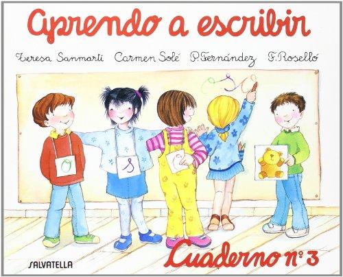 Aprendo a escribir 3 por Teresa Sanmarti Garcia