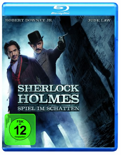 Sherlock Holmes: Spiel im Schatten [Blu-ray] (Spiele Dunkeln Im)