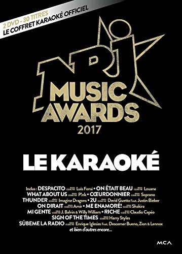 NRJ Music Awards 2017 karaoké [Italia] [DVD]