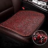 LONG Auto-Sitzkissen, Holzperlen Auto-Sitzkissen Qualität super komfortable Massagekissen,C,Onepiece