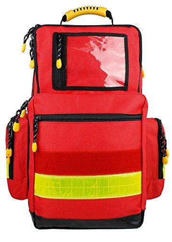 Notfallrucksack LARGE Rot Nylon 480 x 400 x 200 mm leer (Badartikel)